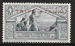 Tripolitania, Scott # 49 Mint Hinged Italy Stamp, Virgil, Overprinted, 1930 - Tripolitania