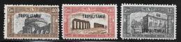 Tripolitania, Scott # B19-21 Mint Hinged Italy Stamps, Overprinted,1927 - Tripolitania