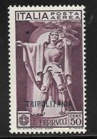 Tripolitania, Scott # C1-3 Mint Hinged Italy Stamps, Overprinted,1930 - Tripolitania