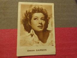 Chromo Image (petite ) Greer Garson N)50 Kwatta - Non Classés