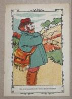 Carte Chromo Publicitaire MAGASINS MODERNES RENNES Jeux De Dessin Caché (n°2) - Trade Cards