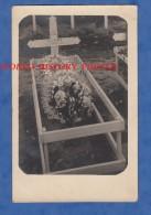 CPA Photo - Tombe Du Poilu Gustave GLAVé 8e Régiment D'Infanterie Décédé à GIROMAGNY - Cimetiére Militaire WW1 - Guerra 1914-18