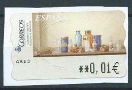 ESPAGNE SPANIEN SPAIN ESPAÑA 2003 ATM-DISTRIBUCION Pinturas (7). Sammer Gallery. Bodegon De Farmacia  ED 99 YV 91 - 1931-Today: 2nd Rep - ... Juan Carlos I
