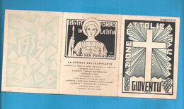 TESSERA AZIONE CATTOLICA ITALIANA GIOVENTU'   - 1939 DIOCESI MAZARA DEL VALLO - Organizzazioni