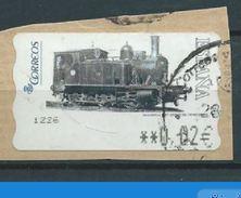 ESPAGNE SPANIEN SPAIN ESPAÑA 2005 ATM-DISTRIBUCION Ferrocarriles(6) Locomotora 1887 Museo Del Ferrocarril  ED 117 YV 110 - 1931-Today: 2nd Rep - ... Juan Carlos I