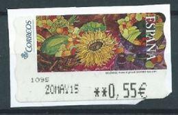 ESPAGNE SPANIEN SPAIN ESPAÑA 2005 ATM-DISTRIBUCION Pinturas (17) MELÉNDEZ: Frutas & Girasol Sammer Gallery ED 119 YV 112 - 1931-Today: 2nd Rep - ... Juan Carlos I