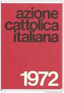 TESSERA AZIONE CATTOLICA ITALIANA    - 1972 DIOCESI BRINDISI - Vecchi Documenti