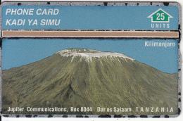 TANZANIA(L&G) - Mount Kilimanjaro(25 Units), CN : 901L, Tirage 13000, Mint - Tanzania