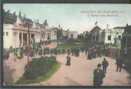 ! - Belgique - Charleroi - Exposition De 1911 - L'Avenue Des Pavillons - Charleroi