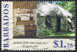 Barbados 2007 Abolition Of Slavery $1.75 Good/fine Used [23/20681/ND] - Barbades (1966-...)