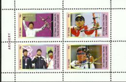 ARCHERY   1  Sheet    LIMITED EDITION Mint   CINDERELLA - Archery
