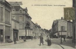 53-FONTENAY-le-COMTE - La Rue De La République - Ed.  A. N. - Fontenay Le Comte