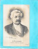 Portrait De A.  MILLERAND Président De La République Française -  De Julus Monge 23/09/1920  - VAN18 - - Hommes Politiques & Militaires