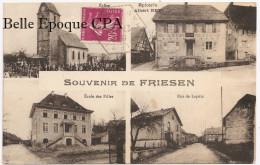 68 - FRIESEN - Épicerie Albert BEY / École Des Filles / Rue De Lepuix ++++ A. Kanitzer +++++ 1934 ++++ RARE - France