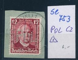 POL-Plizei Lochung /PERFIN  -bitte Zettel Beachten   ( Se753   ) Siehe Foto - Allemagne
