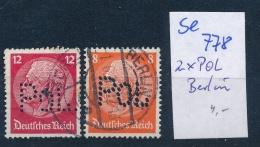 POL-Plizei Lochung /PERFIN  -bitte Zettel Beachten   ( Se778   ) Siehe Foto - Germany