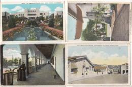 Etats Unis - Californie  - Santa Barbara - 4 Cartes : Achat Immédiat - Santa Barbara