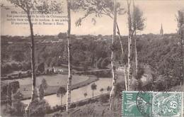 29 - Chateauneuf-du-Faou.Vue Panoramique De La Ville De Chateauneuf Cachee Dans Un Nid De... - Châteauneuf-du-Faou