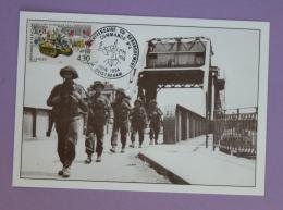 Cartes Premier Jour - Débarquement En Normandie Hommage Aux Libérateur 1994 - Maximum Cards