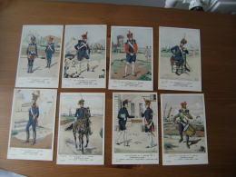 Serie  37  Les Uniformes Du 1 Er Empire  Napoleon Artillerie A Pied - Uniformi