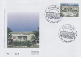 Enveloppe  FDC  1er  Jour    MAYOTTE    La   PREFECTURE     DZAOUDZI     1999