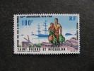 Saint Pierre Et Miquelon: TB PA N°36, Neuf XX. Cote = 18.80 Euros. - Poste Aérienne