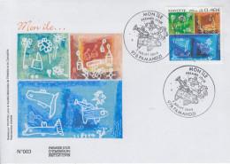 Enveloppe  FDC  1er  Jour    MAYOTTE   Mon  ILE  PAPMANDZI   2005 - Mayotte (1892-2011)
