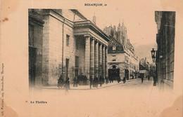 CPA - BESANCON 25 Doubs - Le Théâtre, Bien Animé - Edit.- Lib. Vaillant, 103, Grande Rue. Besançon - Besancon