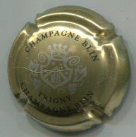 CAPSULE-CHAMPAGNE BLIN R. & FILS N°23 Or Argent & Noir - Champagnerdeckel