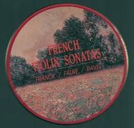 CD CLASSIQUE - SONATES POUR VIOLON : FRANCK / FAURE / RAVEL - Klassik