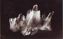 Cristalli Di Quarzo  In Cartolina Romania - Minerali & Fossili