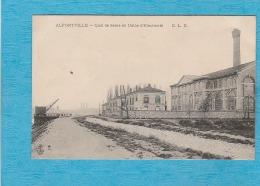 Alfortville ( Val De Marne ). - Quai De Seine Et Usine D'Électricité. - Alfortville