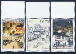 REPUBLIC OF KOSOVO 2013 Cities Of Kosova - Prishtina, Set Of 3v** - Kosovo
