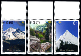 REPUBLIC OF KOSOVO 2013 The Cursed Mountains, Set Of 3v** - Kosovo