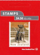 New Zealand 2006 Year Of Dog - Labrador Retriever Guide Dog Mint Booklet - Booklets