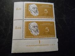 DDR 1960  Top Condition Druckvermerk Ecke  Michel  795 DV - Postfrisch / Mnh/** - [6] Democratic Republic