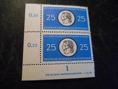 DDR 1960  Top Condition Druckvermerk Ecke  Michel  798 DV - Postfrisch / Mnh/** - [6] Democratic Republic