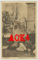 TEUCHERN Gedenkstein A. Den 18. Oktober 1813 Findling Feldpost Post Stempel Napoleon Denkmal Wevelgem - Teuchern