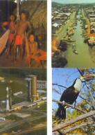973 / GUYANE / Lot De 40 C.P.M. écrites - Cartes Postales