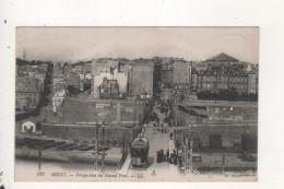 Cachet Militaire Service De Sante Brest Perspective Du Grand Pont - Brest