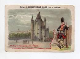 Chromo - Poulain Orange - A Travers Les âges - La Tour Du Temple - Poulain