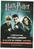 CP Publicitaire- HARRY POTTER - Cinema
