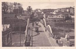 ALGERIE MAISON CARREE LE PONT DE L'HARRACH   SCANS RECTO VERSO - Andere Steden