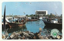 Emirati Arabi - Tessera Telefonica Da 30 Dirhams T163, - Barche