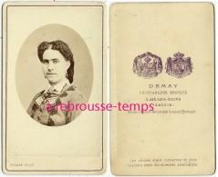 CDV Mode -portrait De Femme-photo Demay à Aix Les Bains-maison à Hyères Pendant La Saison Hivernale - Non Classés