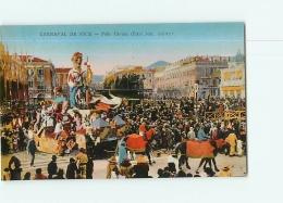 NICE : Carnaval. Folie Cancan, Bizel. 2 Scans. Edition ADIA - Carnaval