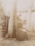 Photo 1908 PAULHAN - Une Maison, Une Femme (A159) - Paulhan