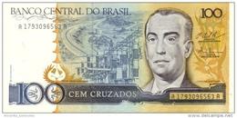BRAZIL 100 CRUZADOS ND (1987) P-211 UNC  [BR833c] - Brazil
