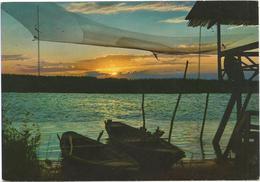 T546 Lido Di Jesolo (Venezia) - Panorama Al Tramnto - Sunset Coucher / Non Viaggiata - Italia