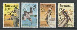 JAMAIQUE 1985  N° 616/619 ** Neufs MNH Superbes Cote 15 € Faune Oiseaux Pélicans Ornithologue Audubon Birds Animaux - Jamaique (1962-...)